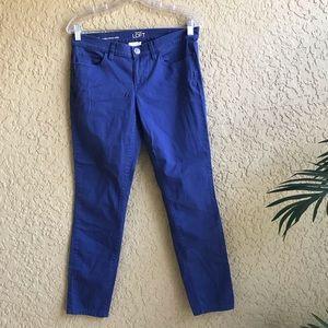 """LOFT Modern Skinny Ankle Jeans 29"""" Inseam"""